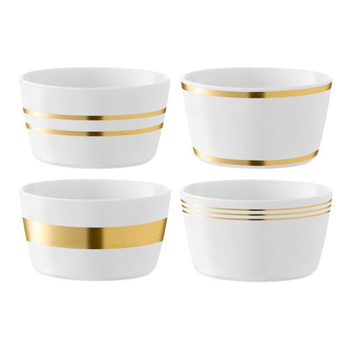 LSA DECODeco Bowl Gold Assortedゴールド【4個セット】