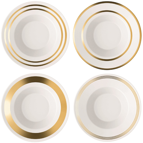 LSA DECODeco Soup/Pasta Bowl Gold Assortedゴールド【4枚セット】