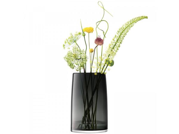 LSA STEMSStems Vsse/Lantern/Planter ランタン/ベース(花瓶)H42cm【Slate グレイ】<箱入り>