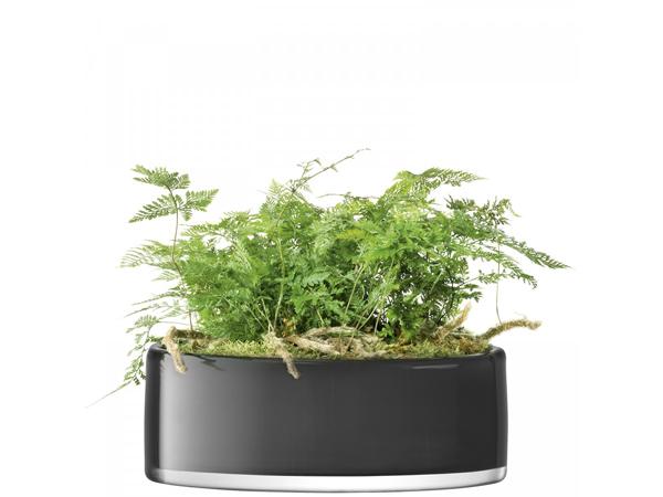 LSA STEMSStems Bowl/Planter ボウル/プランター(花瓶)H11cm【Slate グレイ】<箱入り>