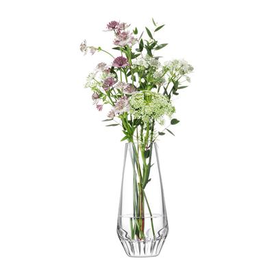 LSA FRIEZEFrieze Vase H19.5cm【Clear/Cut クリア】ベース、花瓶