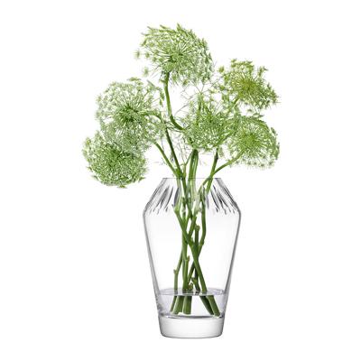 LSA FRIEZEFrieze Vase H24.5cm【Clear/Cut クリア】ベース、花瓶