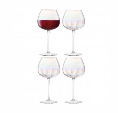 LSA PEARLRed Wine Glassレッドワイングラス【4コセット】