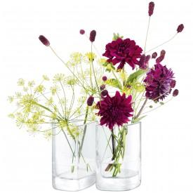 LSA ECHOVASE ベース(花瓶)クリアH120mm【2個セット】<箱入り>