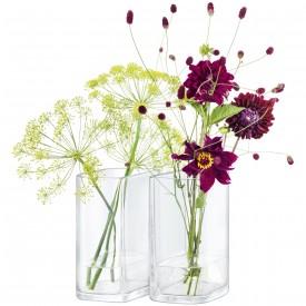 LSA ECHOVASE ベース(花瓶)クリアH190mm【2個セット】<箱入り>