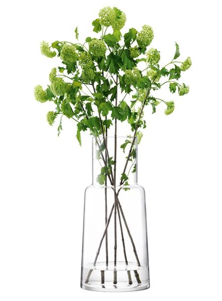 LSA CHIMNEYVASE ベース(花瓶)H530mm【CLEAR】<箱入り>