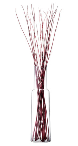 LSA CHIMNEYVASE ベース(花瓶)H1000mm【CLEAR】<箱入り>