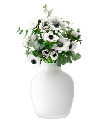 LSA CASHMEREVASE ベース(花瓶)H250mm【ホワイトマット】<箱入り>