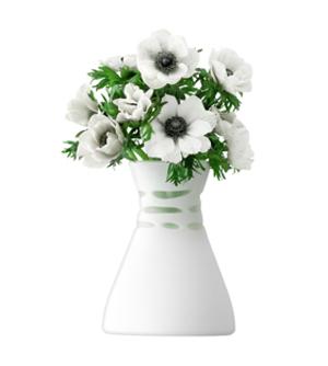 LSA CROCHETVASE ベース(花瓶)H200mm【ホワイトマット】<箱入り>