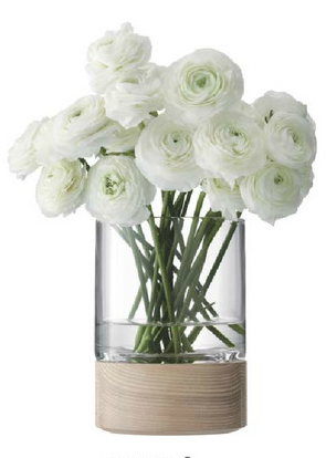 LSA LOTTA VASE/LANTERN&ASH VASE  ベース H180mm【花瓶】