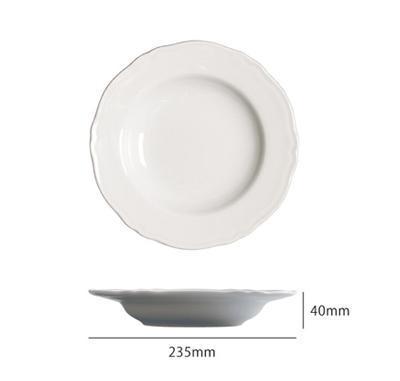 Saturniaのイタリア製食器 [サタルニア]praga プラガ パスタボウル【6枚セット】