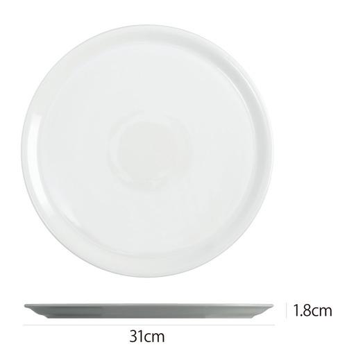 Saturniaのイタリア製食器 [サタルニア] ナポリ ピザプレート※31cm【6枚セット】