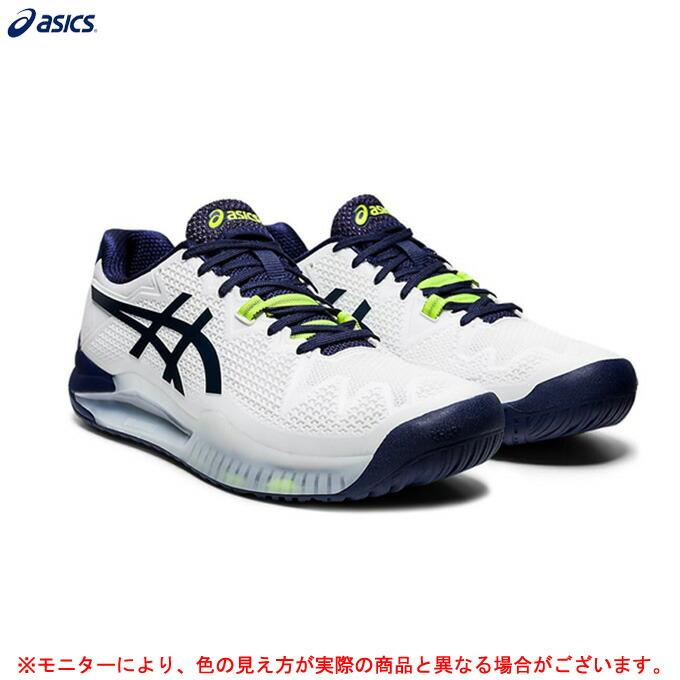 ASICS(アシックス)GEL-RESOLUTION 8 WIDE ゲルレゾリューション 8 ワイド(1041A113)(スポーツ/テニス/オールコート用/テニスシューズ/靴/男性用/メンズ)