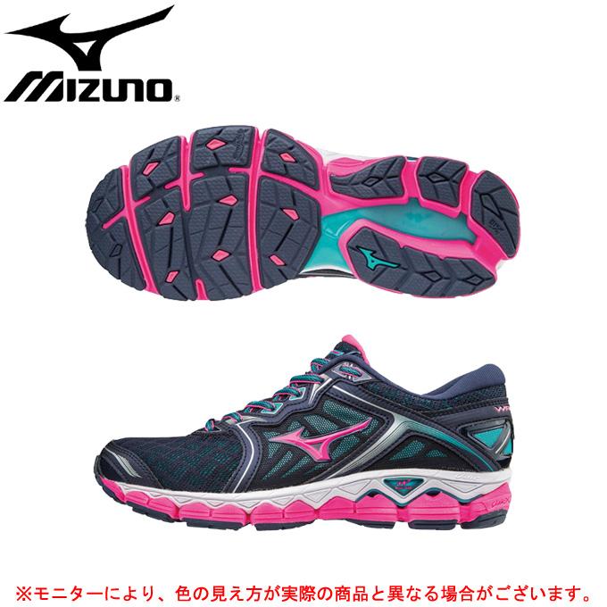 MIZUNO(ミズノ)ウエーブスカイ(J1GD1702)(ランニング/マラソン/ジョギング/トレーニング/スポーツ/シューズ/靴/女性用/レディース)