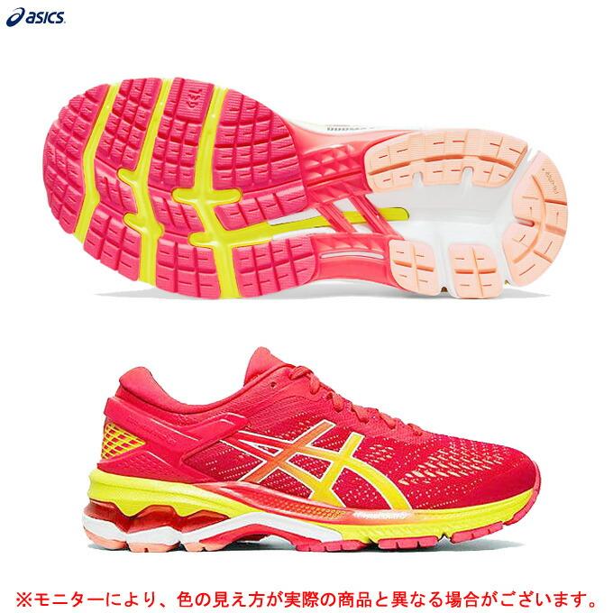 ASICS(アシックス)ゲルカヤノ26 GEL-KAYANO 26(1012A609)(2E相当/ランニングシューズ/マラソン/ジョギング/シューズ/スニーカー/女性用/レディース)