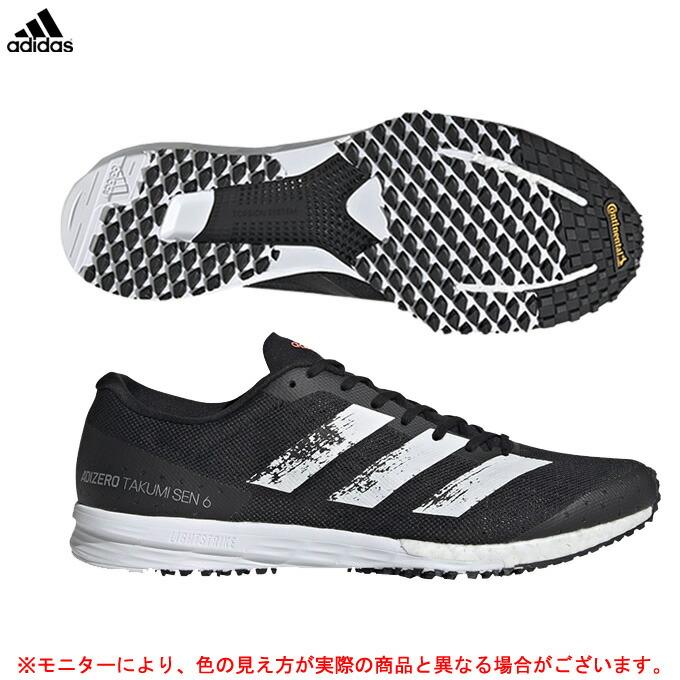 adidas(アディダス)adizero Takumi Sen 6 アディゼロ タクミ セン6(EG1193)(スポーツ/ランニング/カジュアル/シューズ/スニーカー/靴/男性用/メンズ)