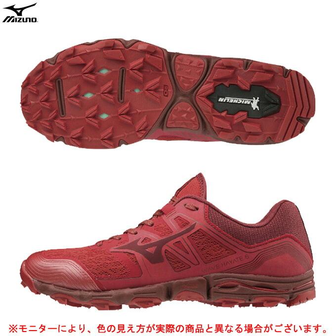 MIZUNO(ミズノ)WAVE HAYATE 6 ウエーブハヤテ 6(J1GJ2072)(トレイル/ランニング/ジョギング/ランニングシューズ/スポーツ/トレーニング/2E相当/男性用/メンズ)