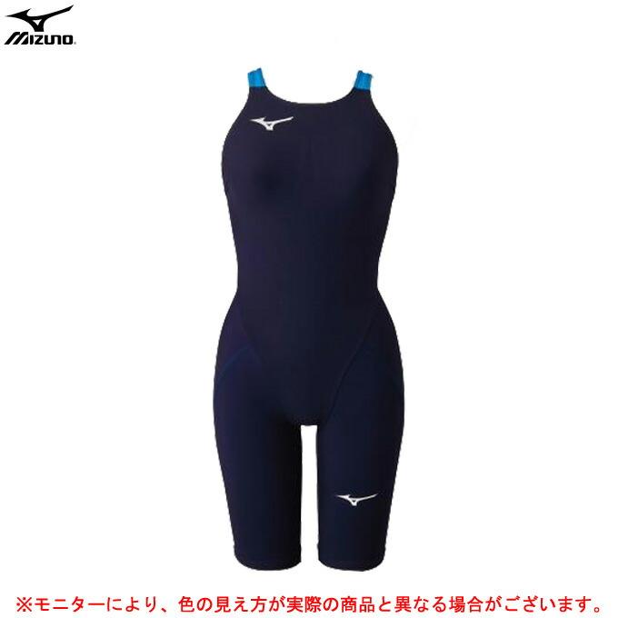 MIZUNO(ミズノ)MX SONIC α ハーフスーツ(N2MG0212)(FINA承認モデル/水泳/競泳水着/スイミング/スイムウェア/女性用/レディース)