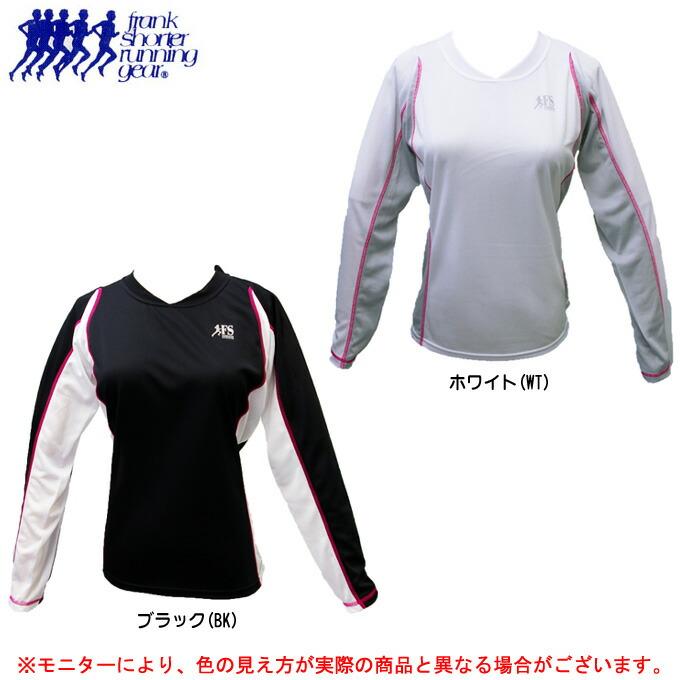 FrankShorter フランクショーター L STシャツ WFS2409-2102 ランニング 長袖 大人気 高級品 女性用 ジョギング レディース シャツ 吸汗速乾
