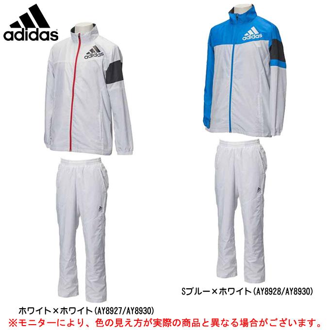 adidas(アディダス)Team ウィンドジャケット パンツ 上下セット(BQJ29/BQJ30)(スポーツ/トレーニング/ランニング/カジュアル/ウインドブレーカー/裏起毛/防風/防寒/男女兼用/ユニセックス)