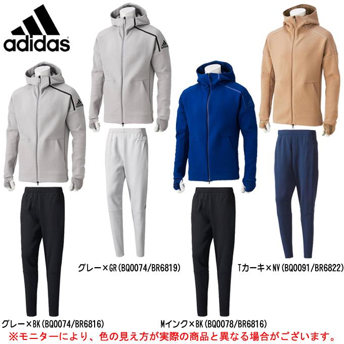 adidas(アディダス)M adidas Z.N.E PULSEフーディー 上下セット(DMR24/DKM38)(スポーツ/パーカー/トレーニング/ジャケット/パンツ/男性用/メンズ)