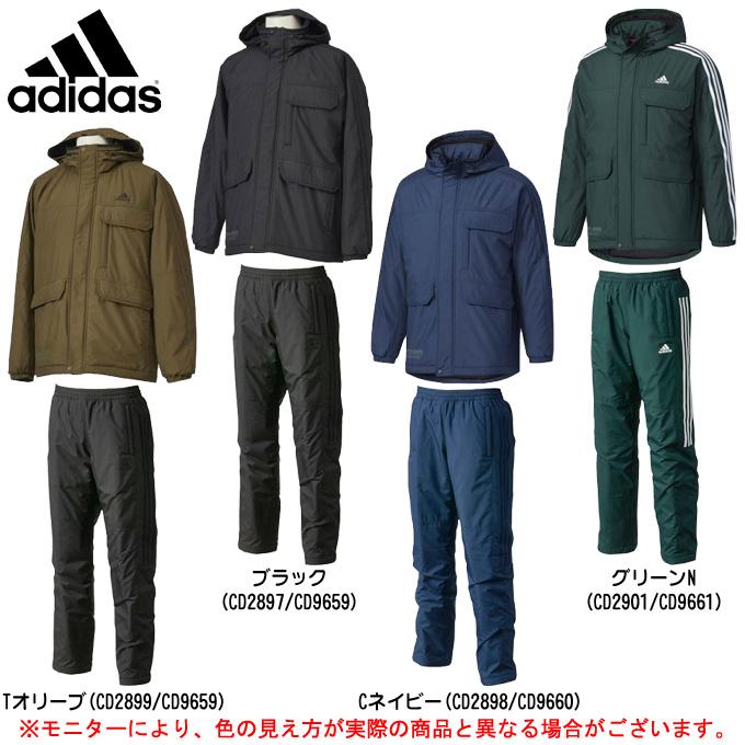 adidas(アディダス)M adidas 24/7 中綿 ウインドブレーカー 上下セット(DUQ95/DUQ94)(スポーツ/トレーニング/カジュアル/ジャケット/パンツ/防風/中綿/裏起毛/男性用/メンズ)