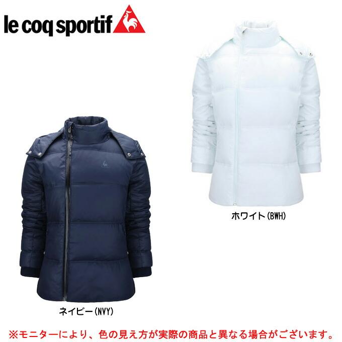 le coq(ルコック)ダウンジャケット(QP585253)(スポーツ/防寒/アウター/カジュアル/女性用/レディース)
