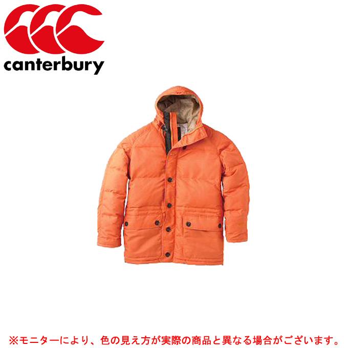 Canterbury(カンタベリー)ミドル ダウンコート(RA74661)(ラグビー/ラガー/スポーツ/アウター/ダウンジャケット/アウトドア/カジュアル/保温/防寒/男性用/メンズ)