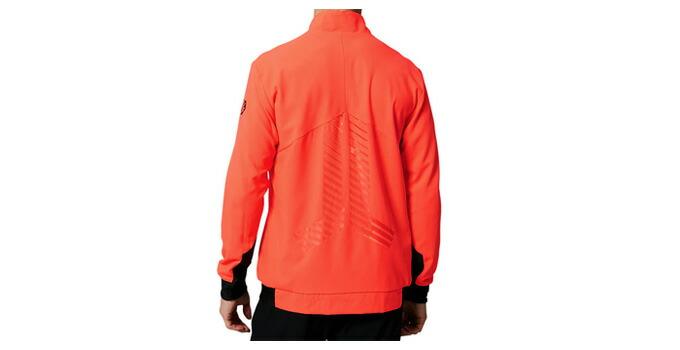 ASICS(アシックス)ストレッチウーブンジャケット TENKA テンカ(2091A081)(陸上競技/駅伝/スポーツ/ランニング/トレーニング/ジャケット/男性用/メンズ)