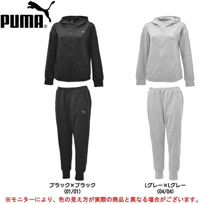 PUMA(プーマ)パフォーマンス スウェット 上下セット(516080/516081)(スポーツ/トレーニング/ランニング/フィットネス/カジュアル/吸水速乾/女性用/レディース), イマダテチョウ:9b76f0d5 --- sunward.msk.ru