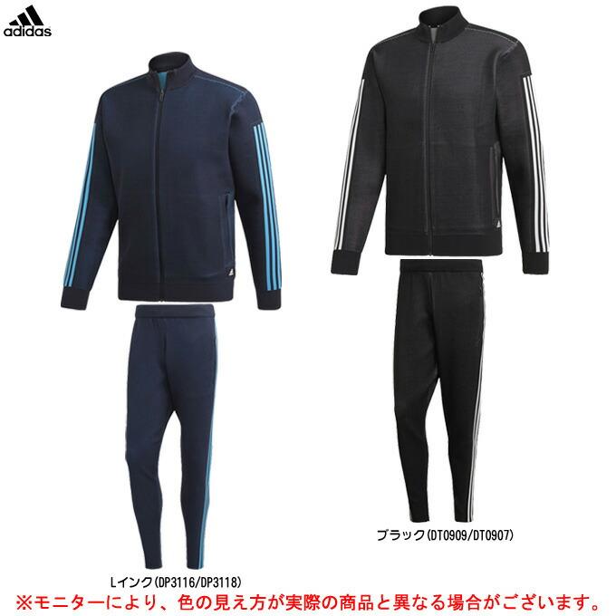 adidas(アディダス)M ID ニットトラックトップ パンツ 上下セット(FRX63/FRX65)(スポーツ/トレーニング/ランニング/カジュアル/男性用/メンズ)