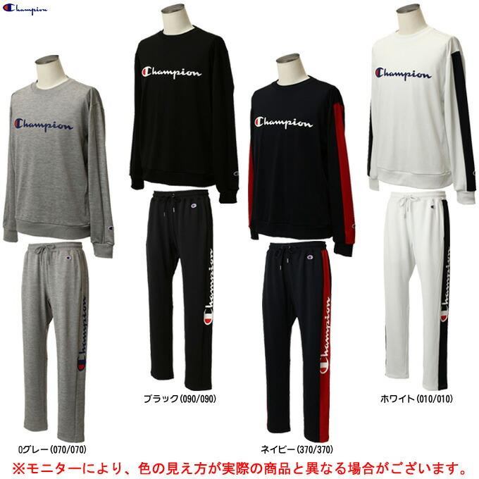 Champion(チャンピオン)SWEAT SHIRTS パンツ 上下セット(C3PS010/C3PS210)(バスケットボール/バスケ/トレーニング/パンツ/カジュアル/男性用/メンズ)