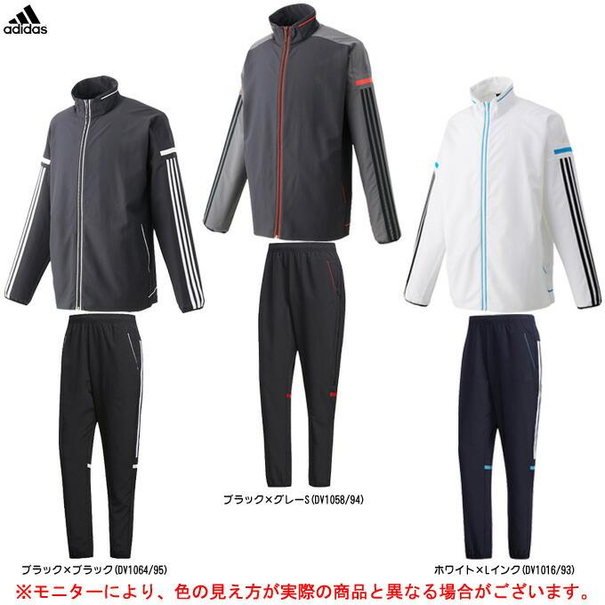 adidas(アディダス)M MUSTHAVES ラインドクロスジャケット パンツ 上下セット(FTL45/FTL39)(スポーツ/トレーニング/ジャケット/パンツ/男性用/メンズ)