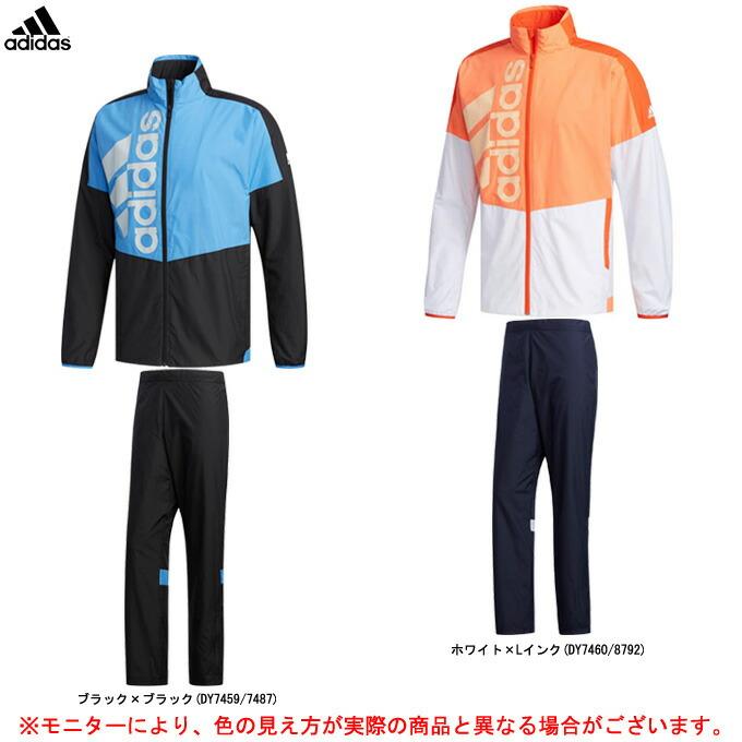 adidas(アディダス)TEAM BT JKT ジャケット パンツ 上下セット(FWS55/FWS51)(テニス/スポーツ/トレーニング/ウィンドブレーカー/防風/男性用/メンズ)