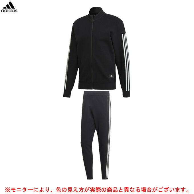 adidas(アディダス)M ID ニットトラックトップ パンツ 上下セット(FXJ81/FXJ80)(スポーツ/トレーニング/ランニング/カジュアル/男性用/メンズ)