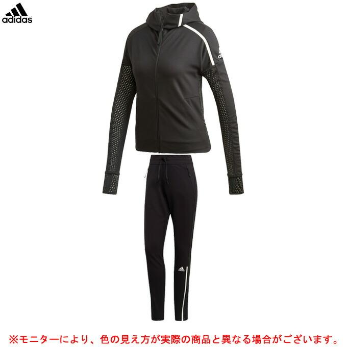 adidas(アディダス)Z.N.E. フーディー ファストリリース メッシュ パンツ 上下セット(GHV45/GHV44)(スポーツ/ジャージ/ジャケット/パンツ/女性用/レディース)