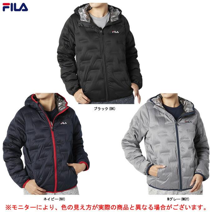 FILA(フィラ)中綿ジャケット(449629)(スポーツ/トレーニング/ウォーキング/ウェア/ジャケット/上着/アウター/フードあり/防寒/女性用/レディース)