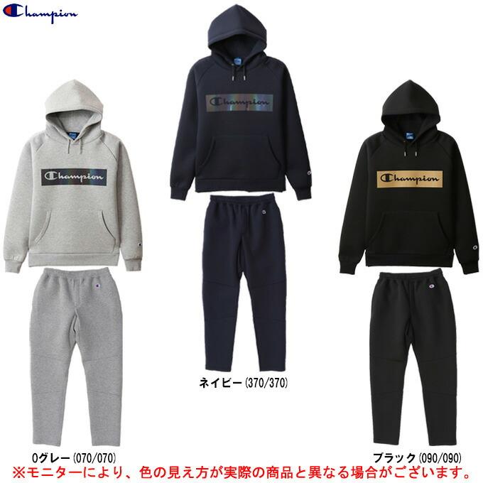Champion(チャンピオン)Wrap-Air パーカー パンツ 上下セット(C3RS106/C3RS202)(バスケットボール/バスケ/スポーツ/トレーニング/フードあり/カジュアル/男性用/メンズ)