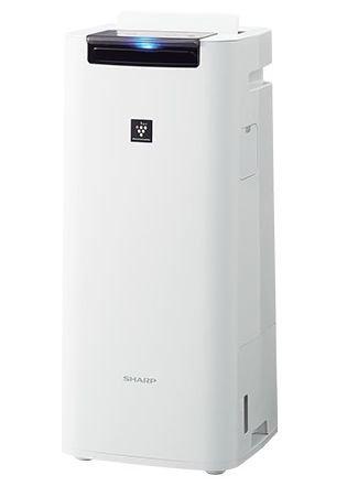 【送料無料】【あす楽可】 シャープ 加湿空気清浄機 KI-HS40-W ホワイト系 高濃度プラズマクラスター25000搭載 空気清浄~18畳 スリム&コンパクトサイズ インフルエンザ 花粉対策