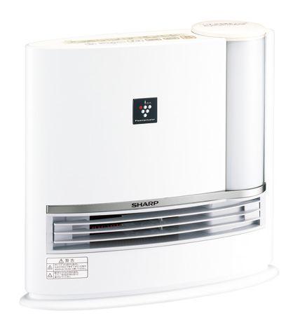 【送料無料】【あす楽可】 シャープ 加湿セラミックファンヒーター HX-H120-W ホワイト系 プラズマクラスター7000搭載 タンク容量2.7L 適用床面積 暖房約8畳 加湿約14畳