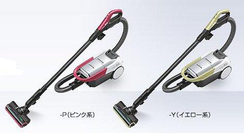 【送料無料】【あす楽対応】 シャープ コードレス掃除機 RACTIVE Air EC-AP500-P ピンク系 EC-AP500-Y イエロー系 軽量、清潔・簡単ごみ捨て コードレスキャニスター紙パック式