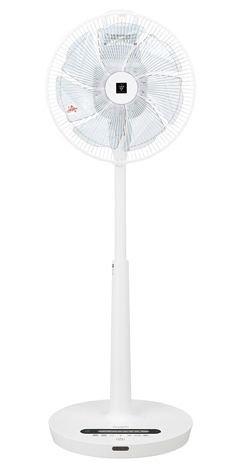 【送料無料】【あす楽対応】 シャープ ハイポジション 扇風機 PJ-J3DS-W プラズマクラスター7000搭載 リモコン付き リビングファン DCモーター 心地よく健康的な風を創るネイチャーウイング