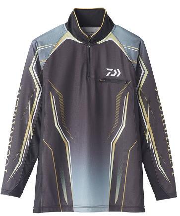 大幅値下げランキング ダイワ 2020トーナメント アイスドライreg; 海外 ジップアップ メッシュシャツDE-73020カラー:ブラックサイズ:M 4550133052217 ポイント10倍