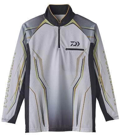 【ダイワ】2020トーナメント アイスドライ® ジップアップ メッシュシャツDE-73020カラー:ホワイトサイズ:M【4550133052163】【ポイント10倍!!】