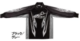【鮎】【オーナー】2019ストレッチグラフィックシャツカラー:ブラック/グレーサイズ:3L【4953873377419】