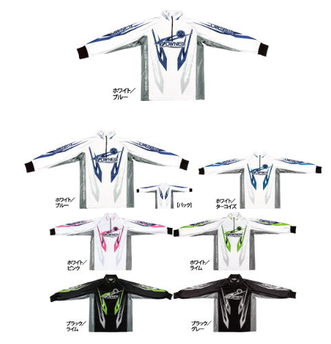 【鮎】【オーナー】2019ストレッチグラフィックシャツカラー:ブラック/ピンクサイズ:L【4953873377341】