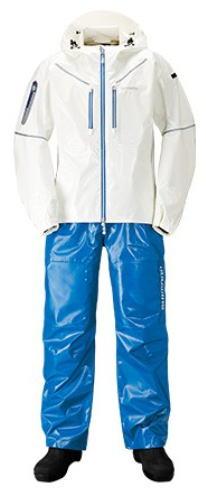 【シマノ】2019SS・3Dマリンスーツ RA-033Rカラー:ホワイト/ブルーサイズ:M【4969363637758】【メーカー希望小売価格の30%OFF!!】