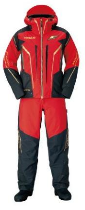 【防寒着】【シマノ】2019NEXUS・GORE-TEX ウォームスーツ LIMITED PRORB-111Sカラー:ブラッドレッドサイズ:XL【4969363654021】