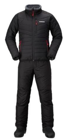 【防寒着】【シマノ】2019ベーシック インシュレーション スーツMD-055Qカラー:ブラックサイズ:XL【4969363535610】