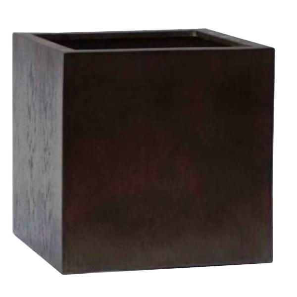 木 風合い 鉢 樹脂製 / MOKU キューブ EB-THKI01【取り寄せ商品】 グリーンポット 寄せ植え 観葉 植物
